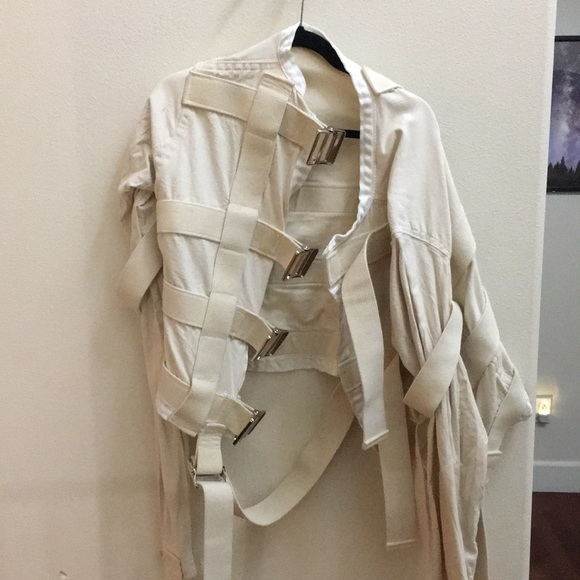 crazy jackets coats onisions straight jacket with hand holes